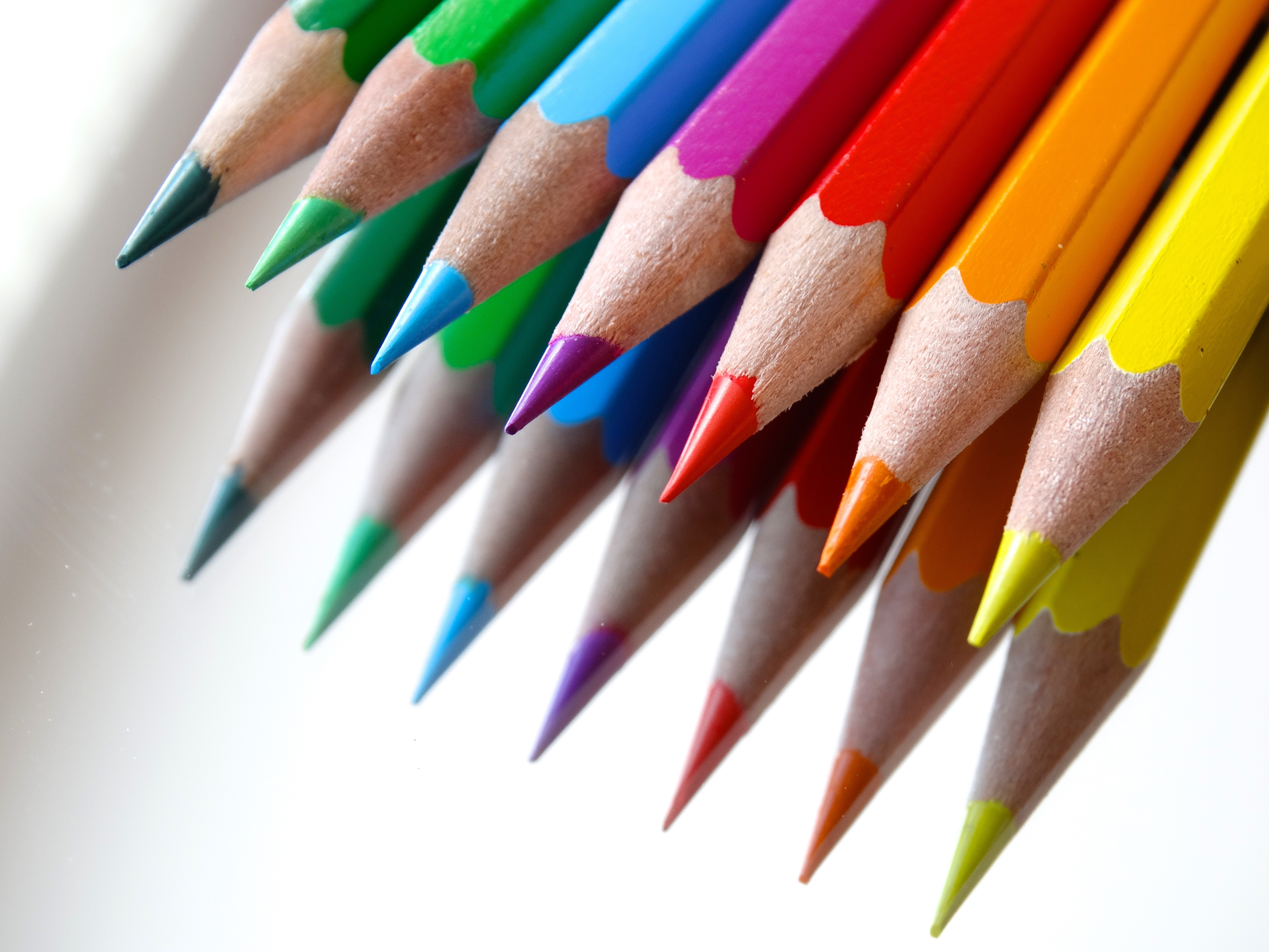 Picture of a collection of colored penciles